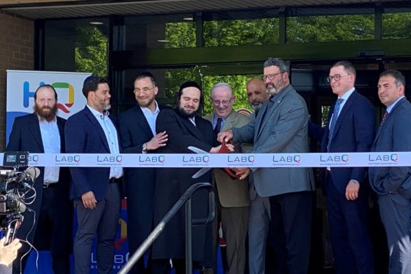 LabQ Ribbon Cutting Ceremony for newest lab and data hub in Mt. Olive.